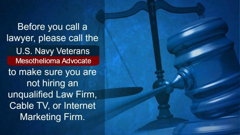 us navy veterans mesothelioma advocate